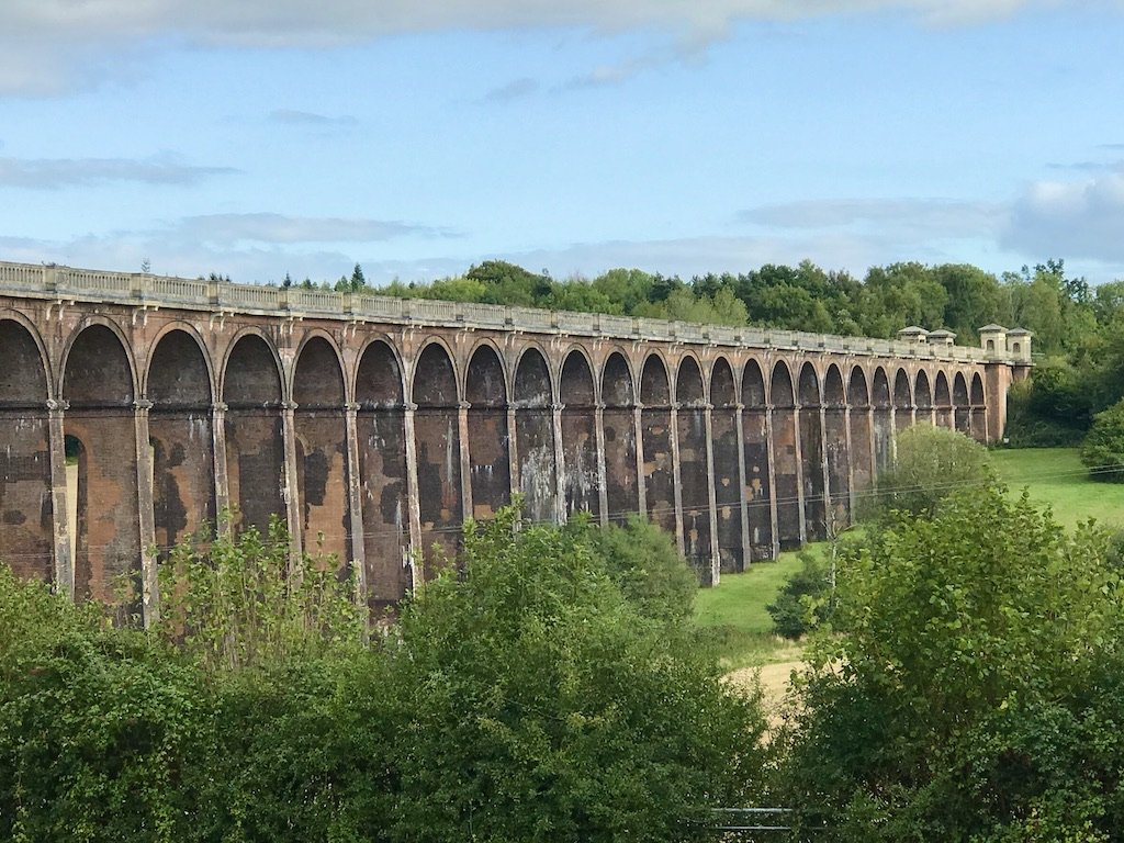 view of the viaduct