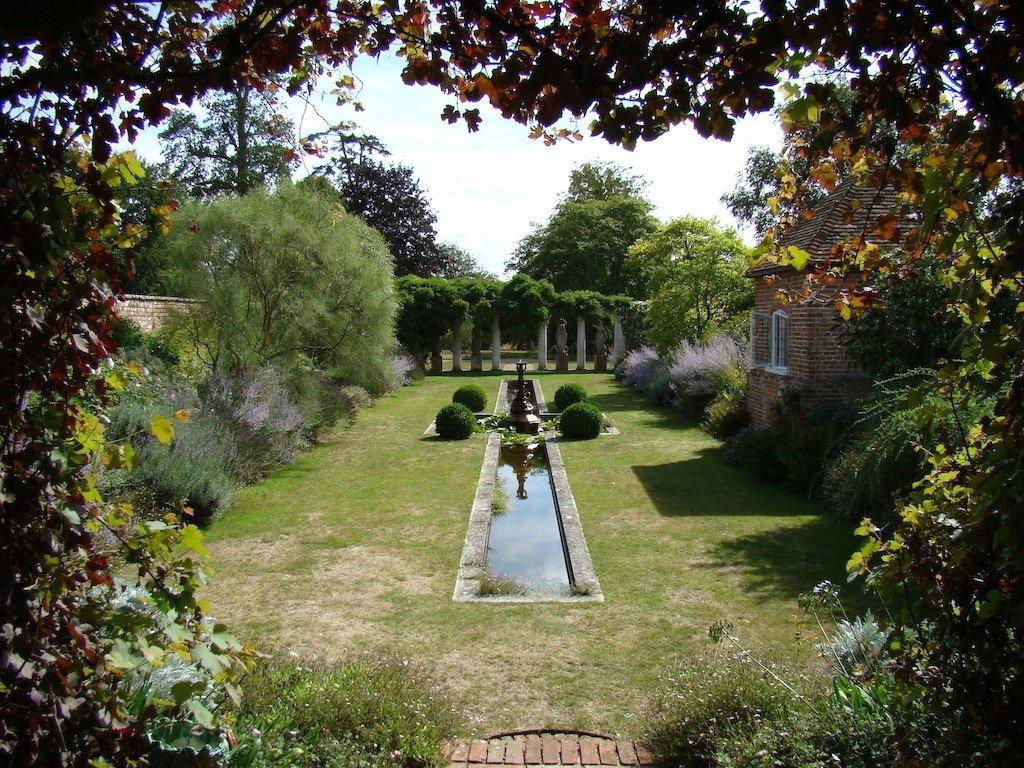 Water Feature in the Italian Garden