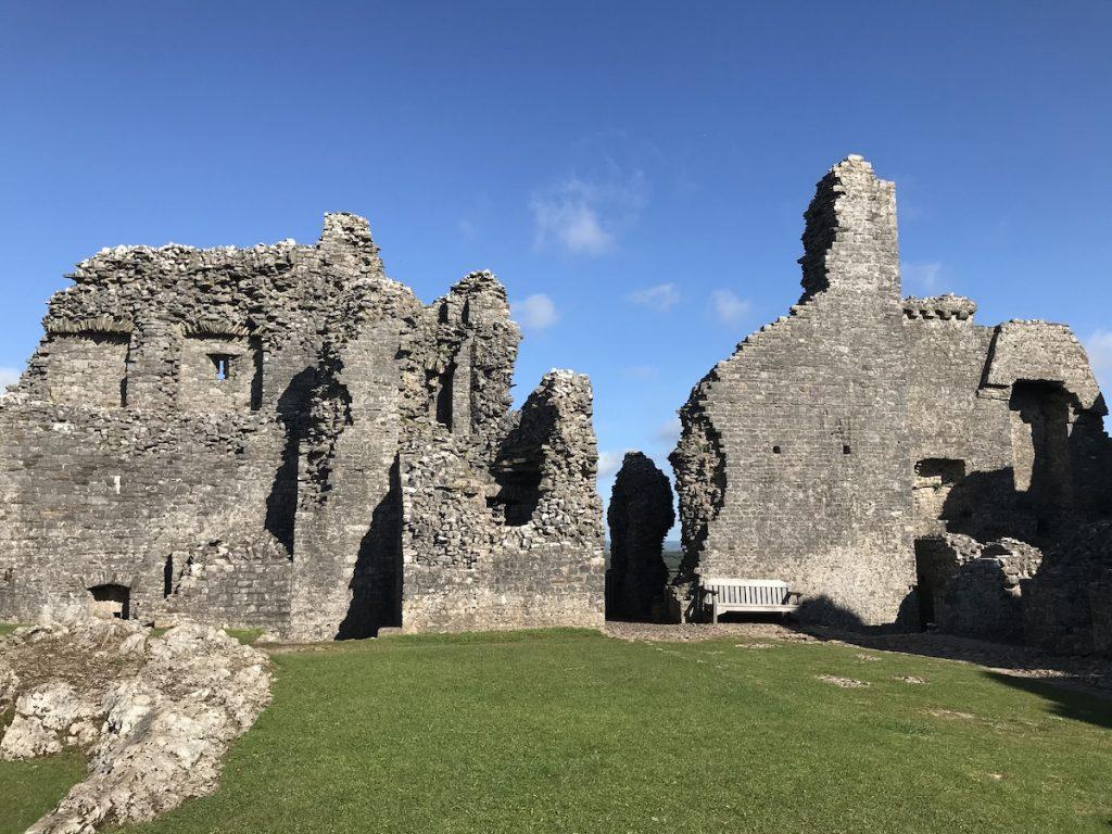 Carreg Cennen Castle ruins
