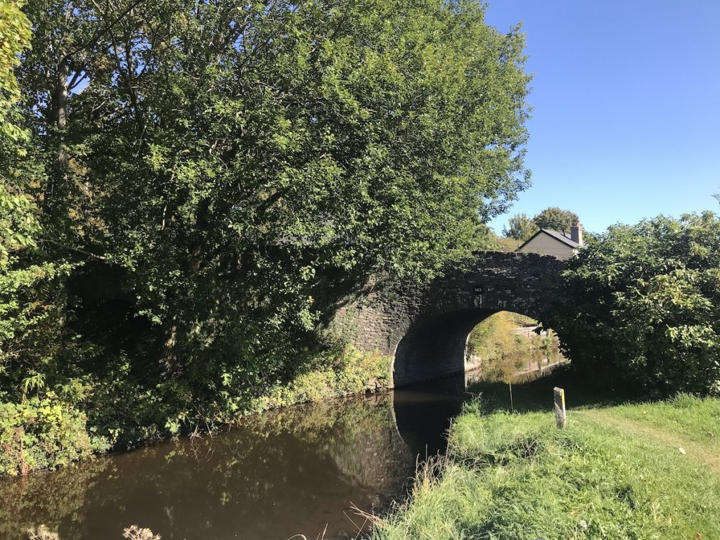 stone bridge across the canal
