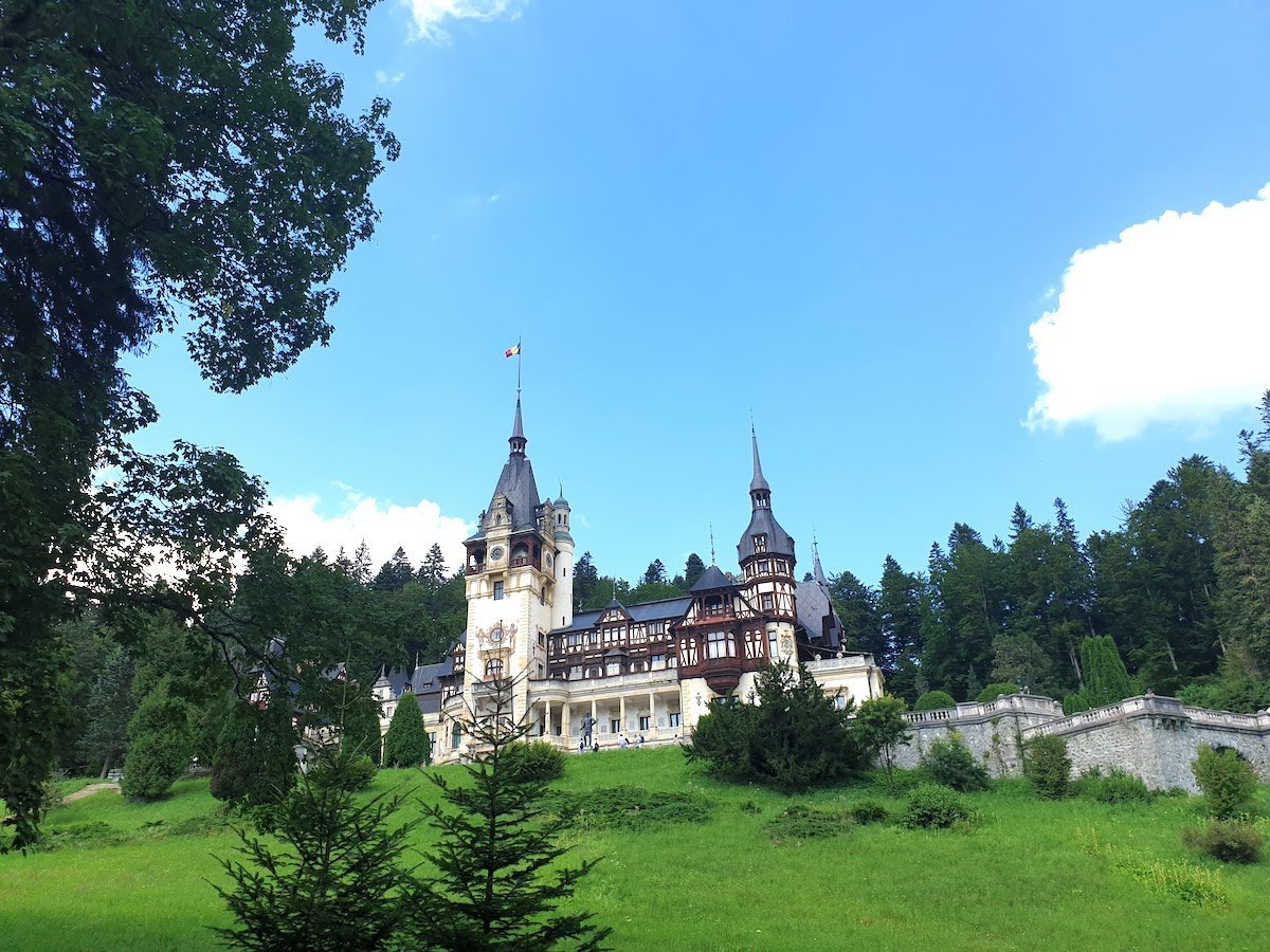 Fairytale Peles Castle in Romania