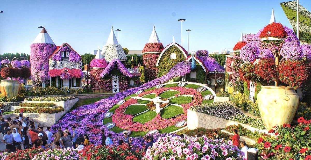 Dubai-Miracle-Garden