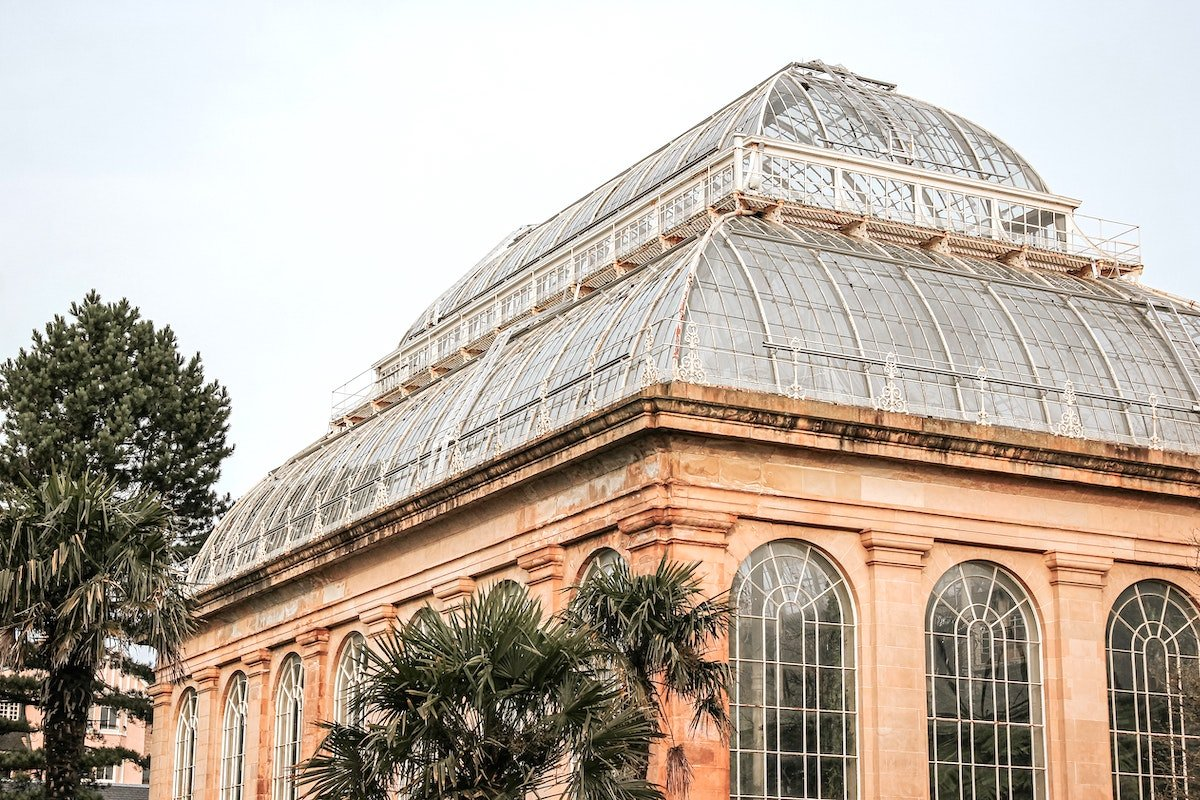 Glasshouse in Edinburgh Gardens