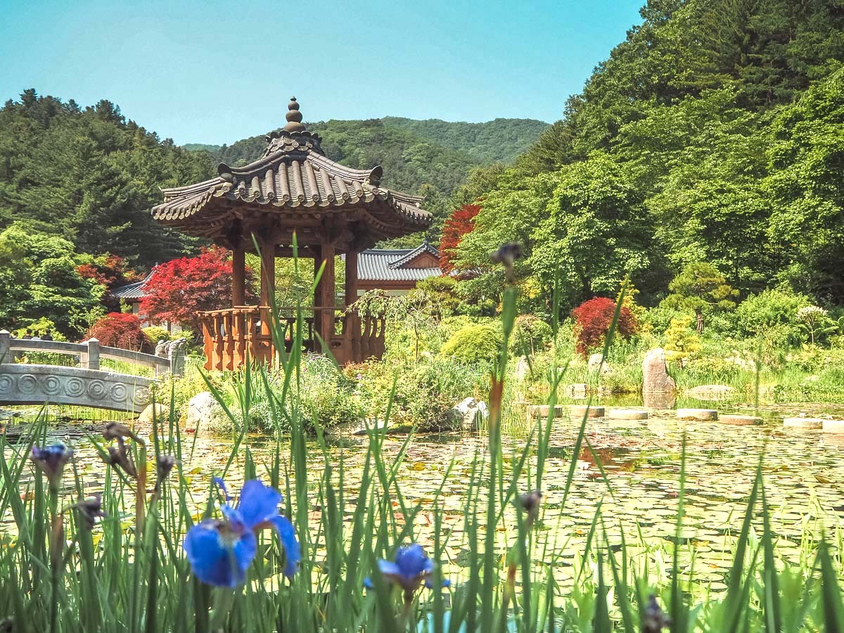 Gardens in South Korea