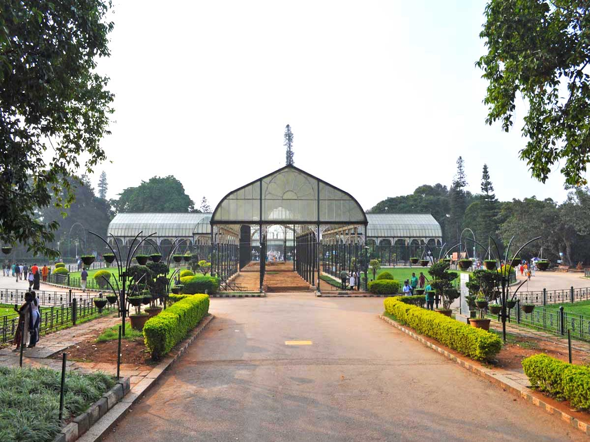 lalbagh botanical garden glass house