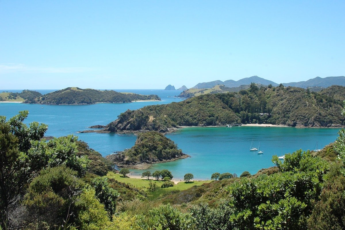 View of the Bay of Islands