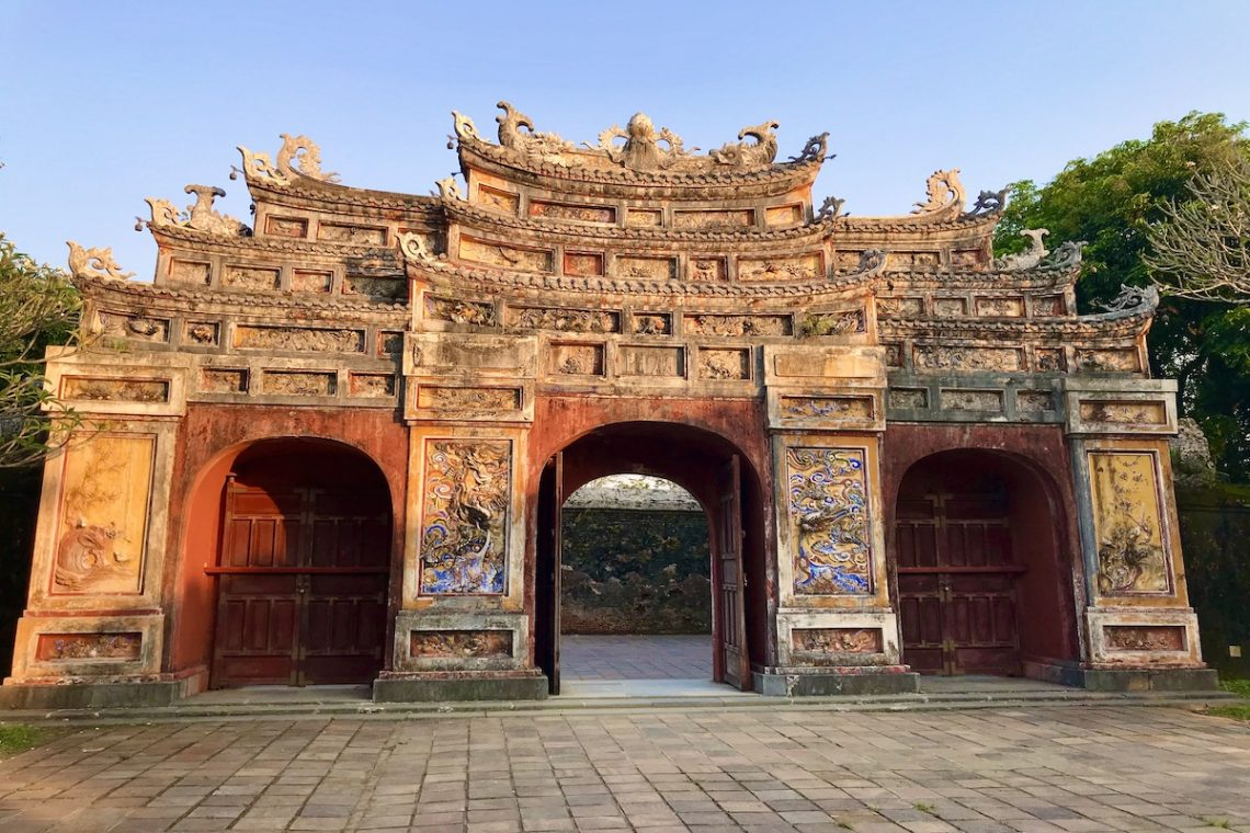 Arched Gateway in the Imperial City of Hue
