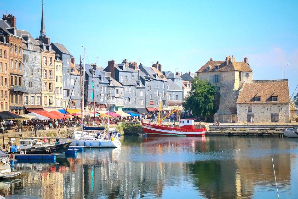Honfleur-Harbour-Northern-France