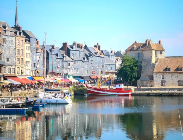 Honfleur-Harbour-Northern-France