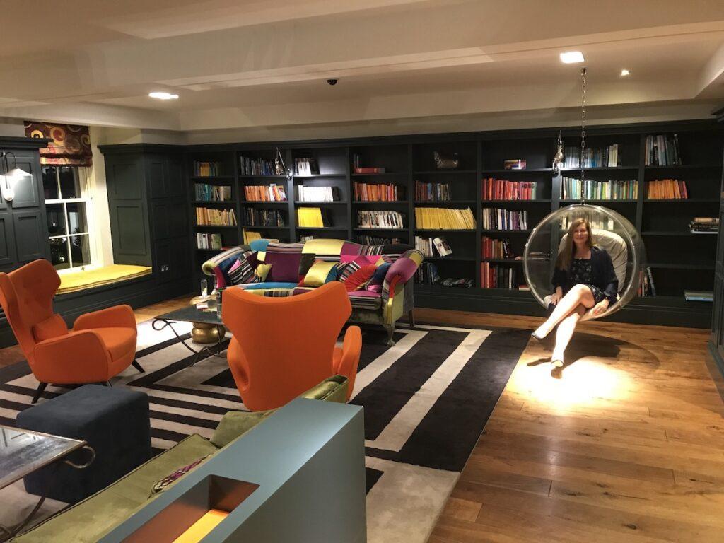 Rudding Park Hotel Library