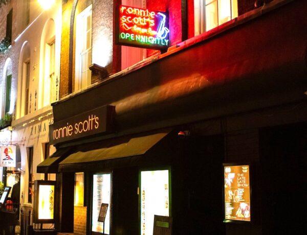 Exterior of Ronnie Scott's Jazz Bar