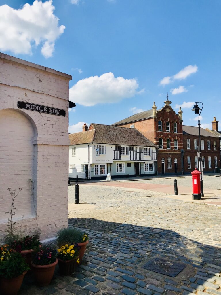 Faversham town square