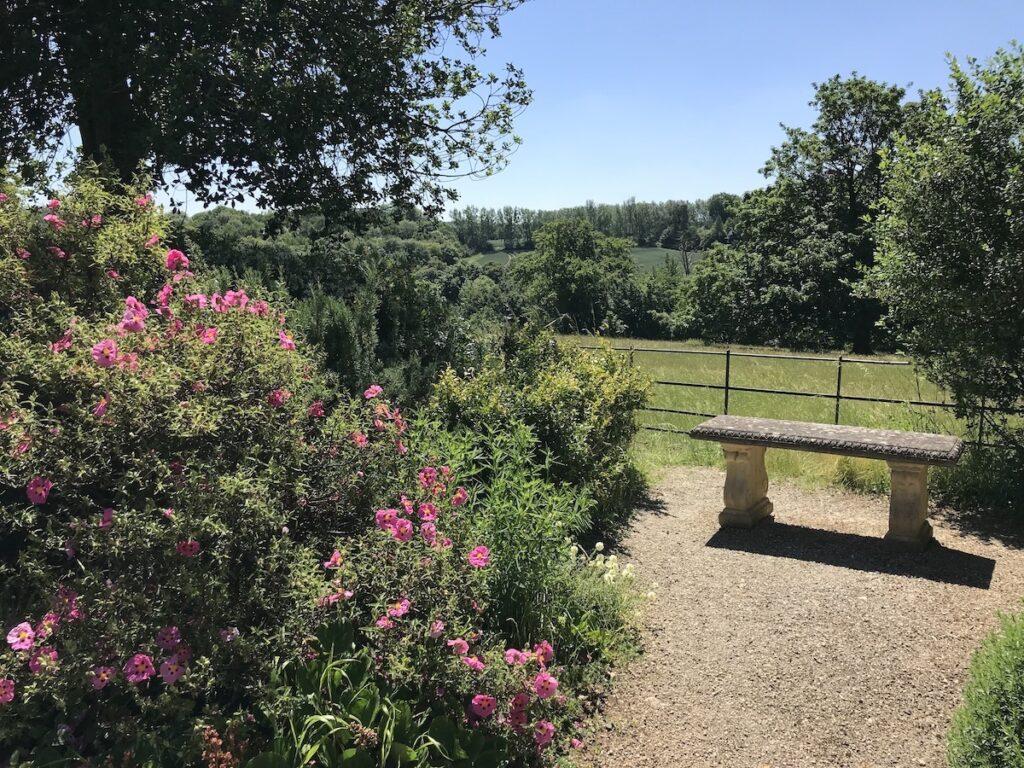 Kent Down views from the rock garden