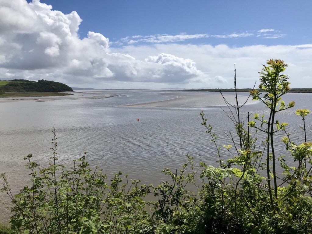 View across the Taf Estuary in Laugharne