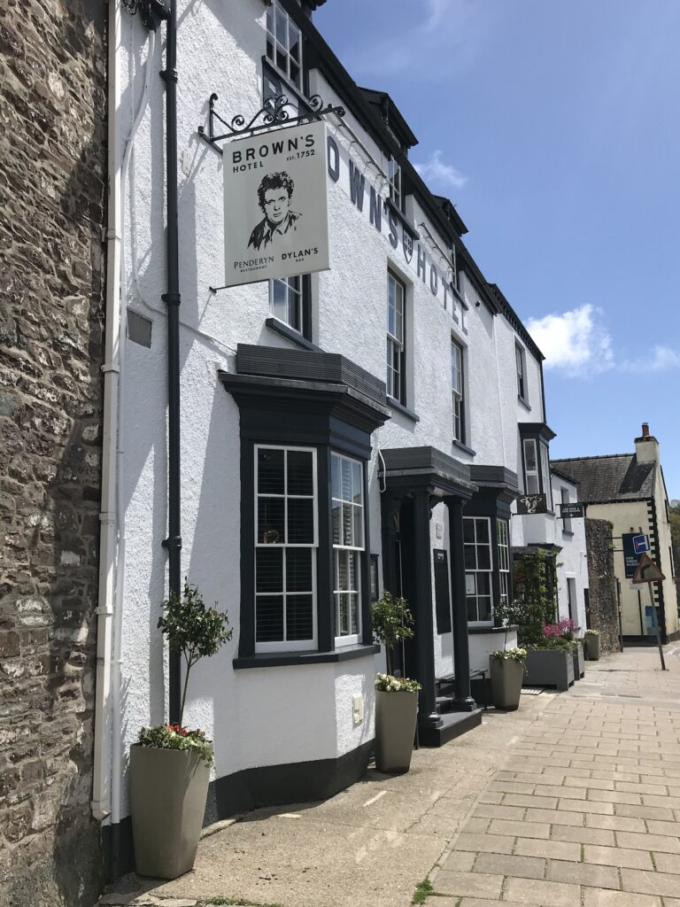 Browns of Laugharne Hotel and Restaurant