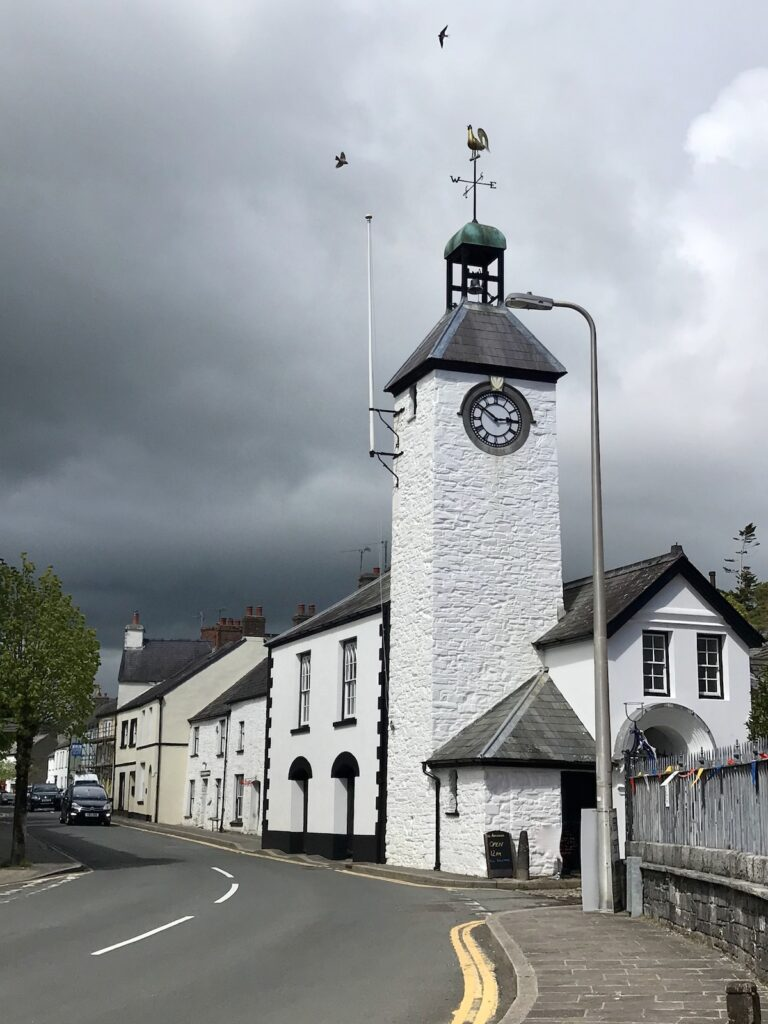 Laugharne Town Hall and Tower