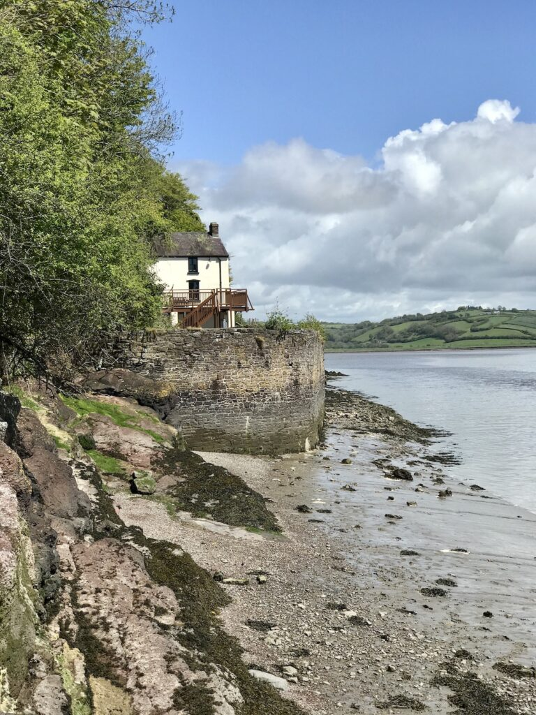 Dylan Thomas Boathouse in Laugharne