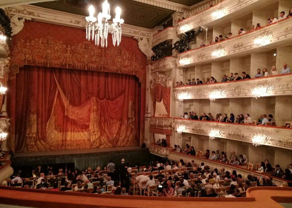 interior of Michailovsky theatre