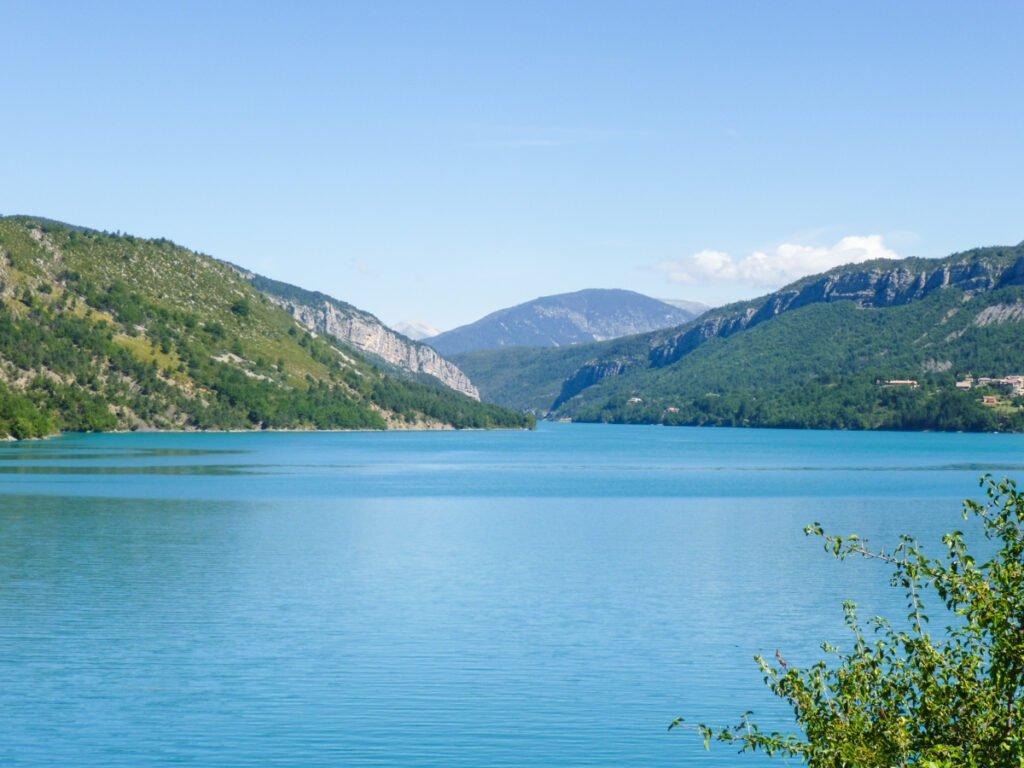 Lake in Verdon South of France