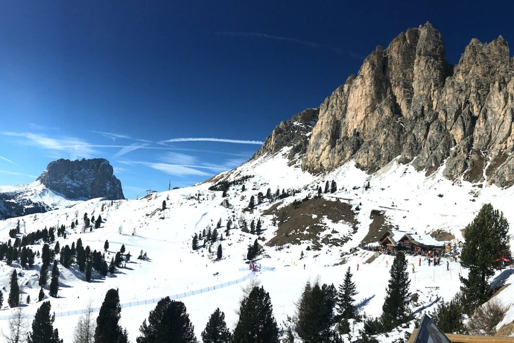 Alto Badia Ski Slopes