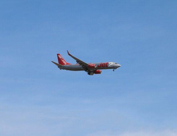 Jet2 Plane in flight