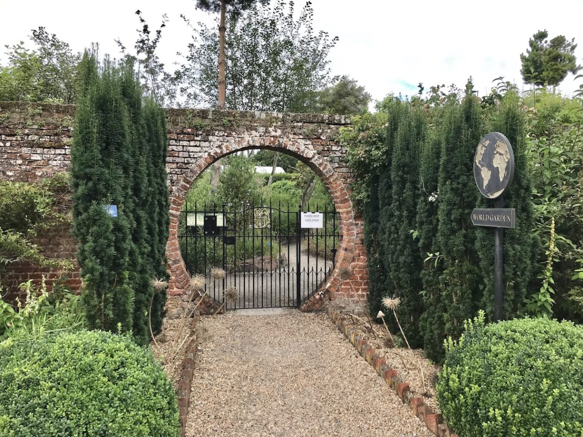 Moon Gate and the World Garden