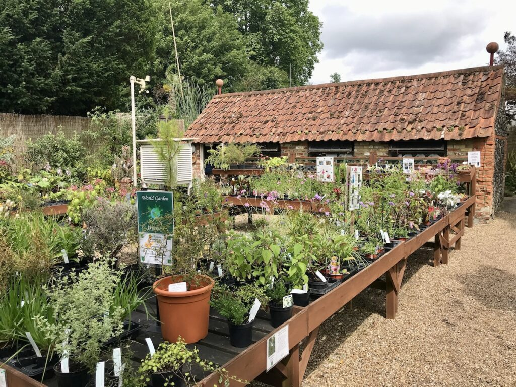 Potting Shed at the World Garden