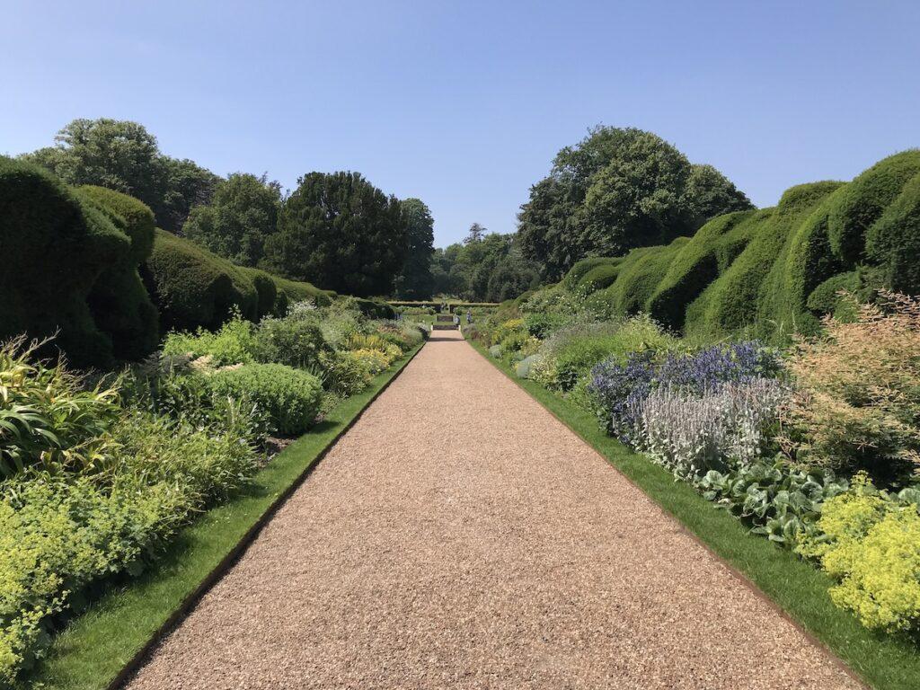 Broadwalk at Walmer Castle Gardens
