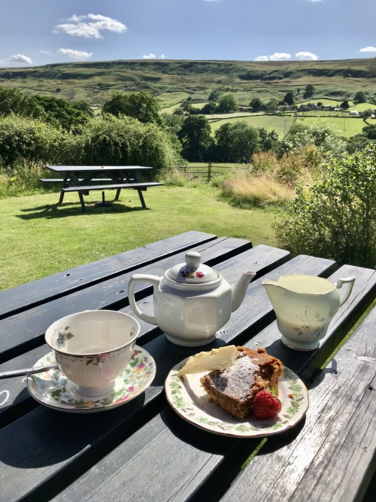 Afternoon Tea on the Yorkshire Moors