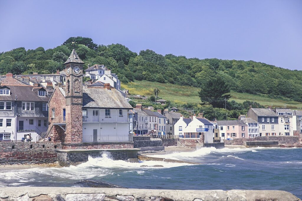 Village of Cawsand in Cornwall